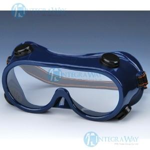 Ударопрочные непотеющие защитные очки HD44717 (ПВХ оправы, поликарбонатные линзы)