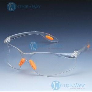 Impact resistant polycarbonate goggles HD15708