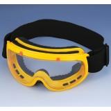 Ударопрочные непотеющие защитные очки DSC59509C (ПВХ оправы, поликарбонатные линзы)