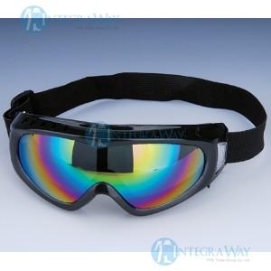 Ударопрочные непотеющие защитные очки DSC59611C (ПВХ оправы, поликарбонатные линзы)