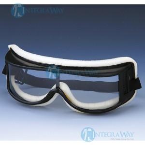 Ударопрочные непотеющие защитные очки KM201500 (ПВХ оправы, поликарбонатные линзы)
