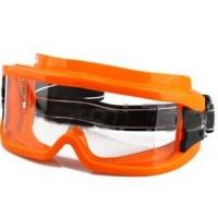 Ударопрочные непотеющие защитные очки KM210320 (ПВХ оправы, поликарбонатные линзы)