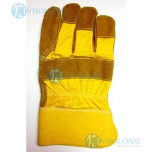 Перчатки спилковые с жесткой крагой M705500WL