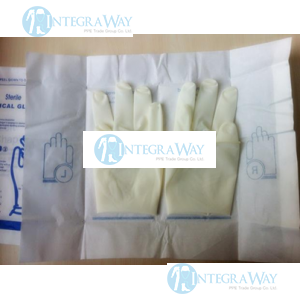 Medical disposable powdered latex surgical gloves,  ethylene oxide  NovoTEX GL5140LEO