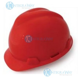 ABS Safety Helmet Fanotek NS-45012ND red