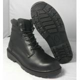Прочные кожаные рабочие ботинки YF01540