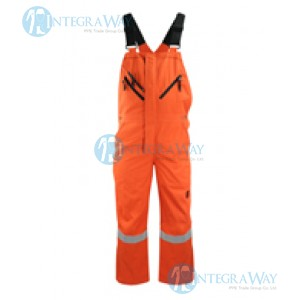 Flame and Static Resistant Cotton Bib Coverall Antony Gill8505