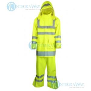 Сигнальная водоотталкивающая куртка Antony Gill9102