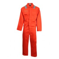 Flame and Static Resistant Cotton Coverall Clover Ser107N11