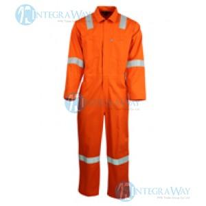 Flame Resistant Cotton Coverall FalkPit M10446