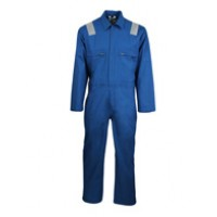 Modacrylic Cotton Blend Flame and Static Resistant Coverall AlBert SN11256