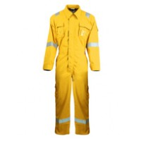 Modacrylic Cotton Flame and Static Resistant Coverall AlBert SN11235