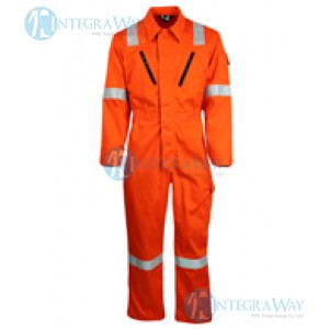Modacrylic Cotton Flame and Static Resistant Coverall Antony Gill7571