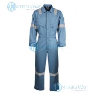 Modacrylic Viscose Flame Static Arc Resistant Coverall Antony Gill5202