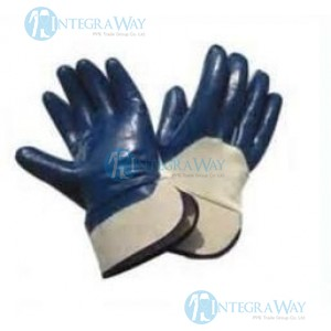 Snage Resistance Warm Winter Gloves With Nitrile Impregnation Palm, Back Sewing CG-Tek A19