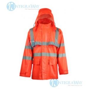 Сигнальная дождевая куртка FalkPit G45714