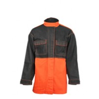 Flame Resistant Leather Welder Jacket FalkPit G45635