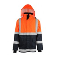 Insulated Flame and Static Resistant Rain Coat FalkPit G45724