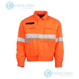 Антистатическая огнезащитная куртка (Модакрил хлопок) Clover Ser45N15
