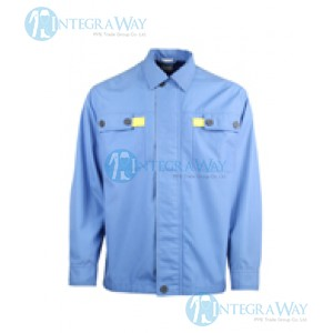Static Resistant Poly Cotton Shirt Clover Ser47N58